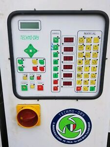 Dry Cleaning Techno dry Control Panel