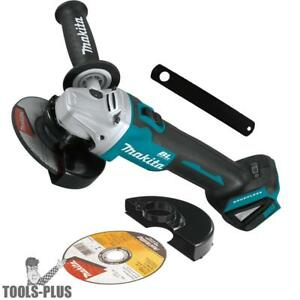 Makita Xag09z 18v Lxt Brushless 4 1 2 5 Cut off angle Grinder tool Only New