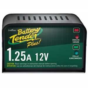 Battery Tender Plus 021 0128 12 Volt 1 25 Amp Battery Charger non cec 021 0128