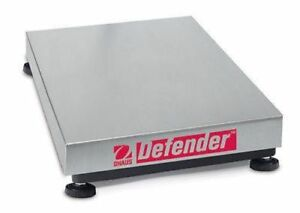 OHAUS D100HL Defender Scale Base capacity 100kg readability 20g 3YR Warranty