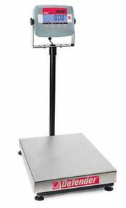 OHAUS D31P150BL 150kg 20g DEFENDER WASHDOWN BENCH SCALE With Warranty NTEP