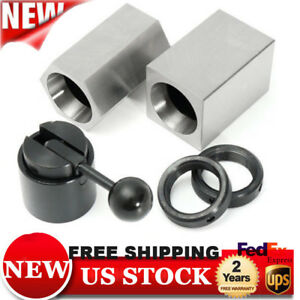 Accusizetools Collet Block Chucks For 5c Round Hex Or Square Collets New