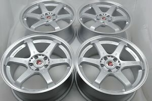 18 Wheels Rims 300zx Camry Tl Sonata Fusion Prelude Wrx Civic Camry Rsx 5x114 3