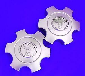2003 Toyota Tundra Wheel Center Hub Caps Silver 560 69440 2 Pcs Fits 17 Wheel