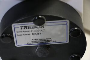 Trebor Model 110e0 ac Pneumatic Diaphragm Chemical Pump W Pc6 ba