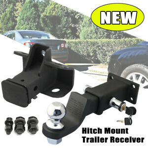 Tow Trailer Hitch Receiver Bar W Hitch Lock For Land Rover Discovery Lr3 Lr4