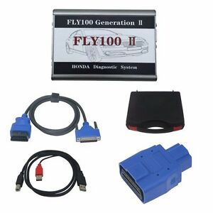 Fly100 Generation 2 fly100 G2 For Honda Scanner Full Version Diagnosis Hds