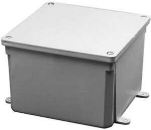 Home Electrical Boxes Case Enclosure Surface Project Pvc Junction Box Gray