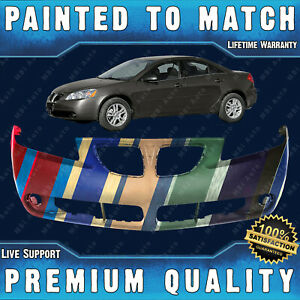 New Painted To Match Front Bumper Cover Fascia For 2005 2009 Pontiac G6 05 09