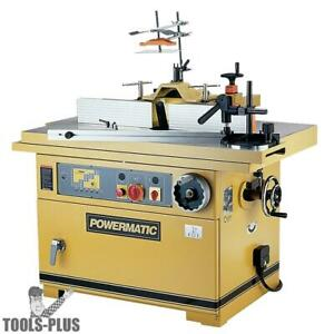 Powermatic 1791284 Ts29 7 1 2 Hp Tilting Spindle Sliding Table Shaper New
