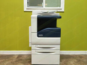 Xerox Workcentre 7545 Laser Color Bw Printer Scanner Copier 45ppm A3 Mfp 7556