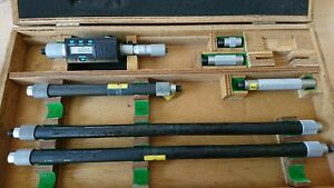 Mitutoyo Digital Micrometer Bore Gauge Set