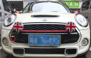 Mini Cooper Union Jack Rally Spot Lamp Light Fog Light Lamp Covers Caps