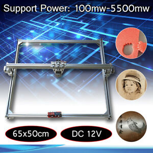 50x65cm Laser Engraving Engraver Cutting Frame Motor Kit Diy Laser Machine 12v