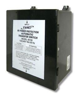Surge Guard 40100 50 Amp 120 240v Automatic Transfer Switch