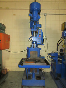 Allen 30 Sliding Head Drill Press 3 Hp W Tapping