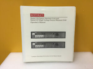 Keithley Model 236 237 Measure Units Operator s Manual