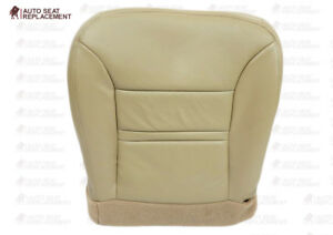 2000 2001 Ford Excursion Lariat xlt Driver Or Passenger Vinyl Seat Cover Tan