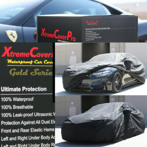 2016 2017 2018 2019 Bmw M4 Coupe Waterproof Car Cover W Mirror Pocket Black