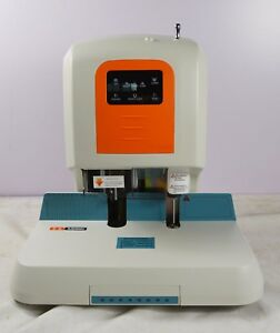 New 110v Auto Financial Binding Machine With Touching Panel Rivet Tube