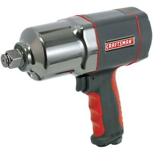 Craftsman Impact Wrench Tool 1 2 Inch Heavy Duty Lightweight Portable Comfy Grip