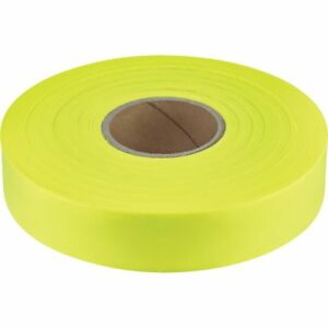 12 Pack Empire 1 x600 Flagging Tape Yellow