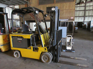 Daewoo Electric Forklift 6 000 Lbs Model Bc30s 36 Volt