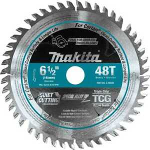 Makita A 98809 6 1 2 48t Carbide tipped Cordless Plunge Track Saw Blade New