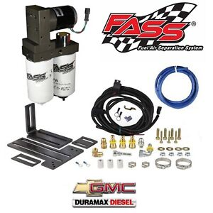 Fass Fuel System Lift Pump For 11 14 Chevy gmc Duramax Diesel 6 6l Lml 165gph