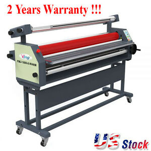 Usa 63 Full Auto Wide Format Roll Laminator Laminating Machine With Stand