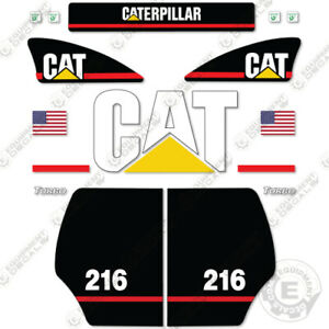 Caterpillar 216 Decal Kit Equipment Decals Older Style