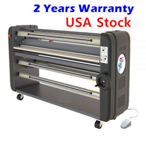 63 High End Warm Assist Wide Format Laminator Single Piece Metal Construction