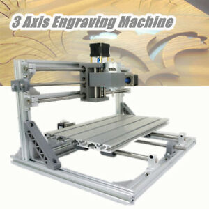 3 Axis 3018 Grbl Control Mini Cnc Router Milling Wood Engraving Machine 24v 5 6a