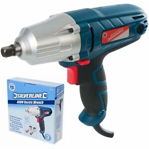 Silverstorm 400w Electric Impact Drill Wrench 1 2 Dr Power Tool With Sockets