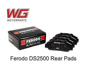 Ferodo Ds2500 Rear Brake Pads For Jaguar Xkr 4 2l With Alcon Calipers Frp3135h