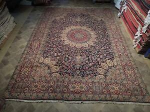 Rug Handmade Carpet 10x14 Once Owned Persian Sheik Safi Ardabil Province