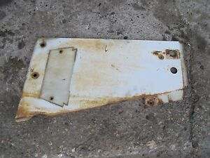 Farmall 706 Tractor Ih Ihc Front Left White Radiator Side Cover Panel