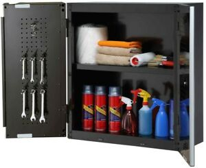 Home Garage Storage Organization Steel Ajustable Wall Cabinet System Tool Box