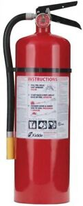 17 lb Home Office Wall Mount Emergency Safety Rechargeable Fire Extinguisher New