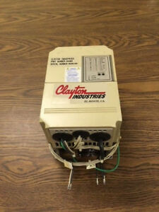 Clayton Dynamometer Micro Inverter Motor Controller