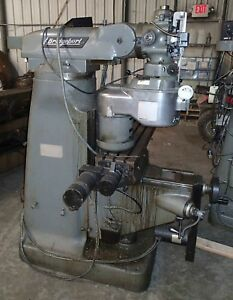 Bridgeport Cnc Mill Series 1 Proto Trak Plus Control 2 Hp