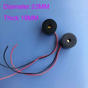 Buzzer Alarm Diameter 23mm Thick 19mm Speaker With Line 15mm Buzzer