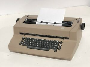 Ibm Selectric Ii 2 Correcting Typewriter Tan Vintage Works