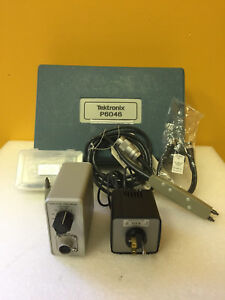 Tektronix P6046 Dc To 100 Mhz Differential Probe Kit Latest Version New Accy