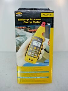 New Fluke 772 Milliamp Process Clamp Meter Ships Today