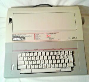 Smith Corona Electronic Typewriter Xl 1700
