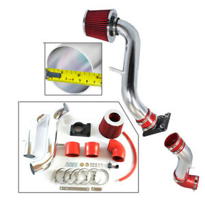 Cold Air Intake Kit Red Filter For 00 05 Mitsubishi Eclipse 2 4 3 0l