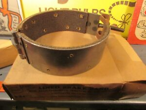 Nos Brake Band Lined Tractor 5 x1 Allis Chalmers U 2633 Models Wc W Rc A c Pick