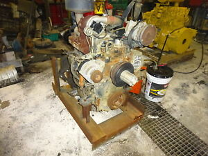 Caterpillar 3054t Diesel Engine Turbo Runner Video 420d 432d 2340 2060 Perkins