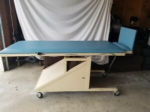 Hausmann Physical Therapy Tilt Table With Electric